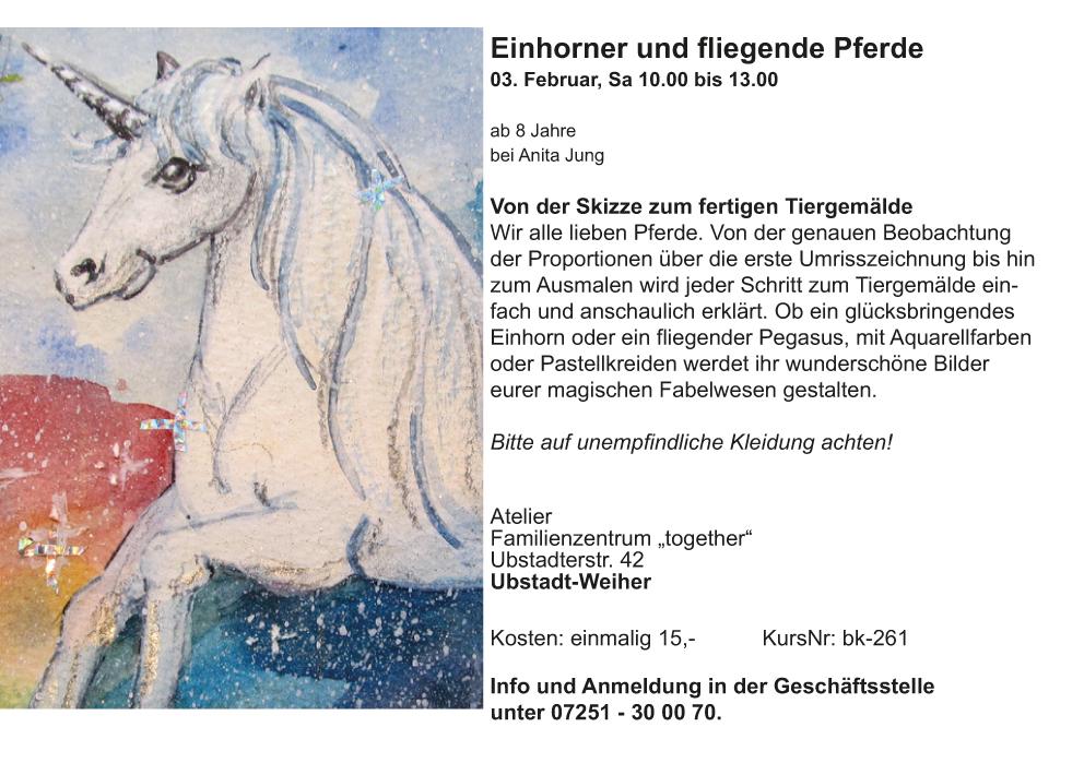 02_Einhörner und Pferde