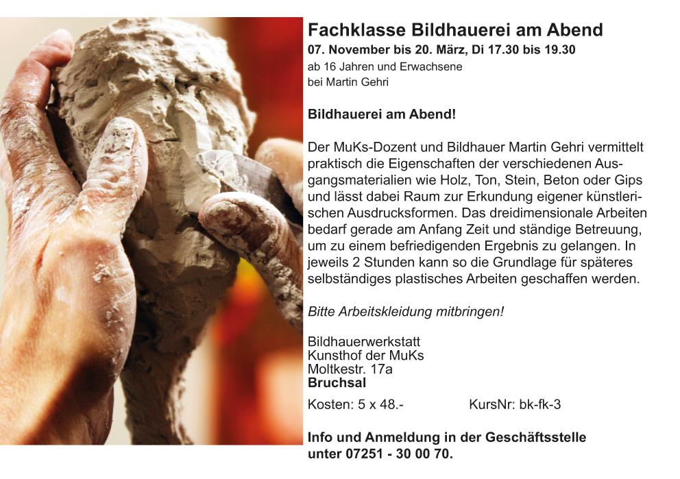 11-03_FK Bildhauerei Abend