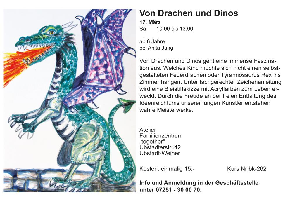 Drachen und Dinos