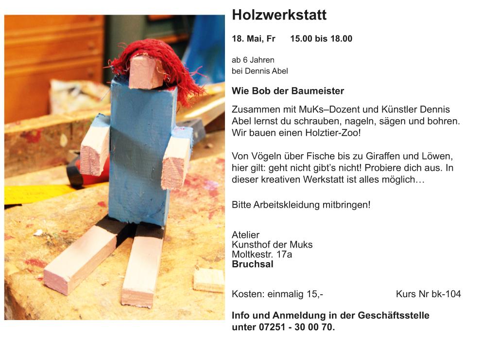 Holzwerstatt
