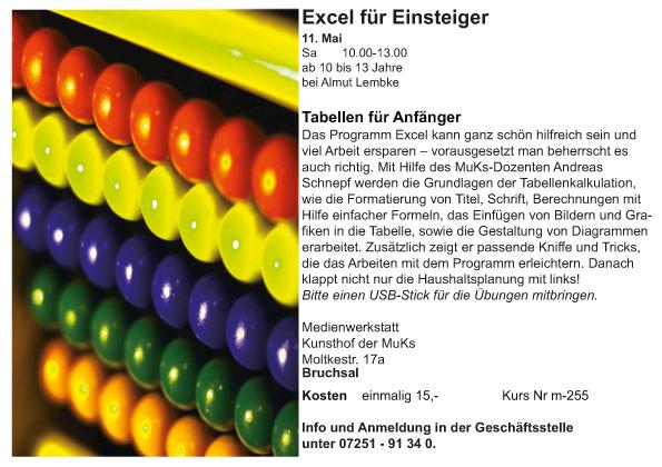 MKi_Andreas Schnepf_Tabellen für Einsteiger_Excel-2019-1
