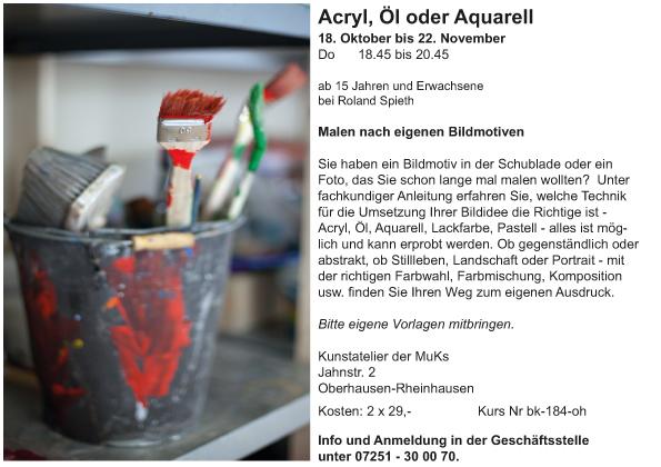 Acryl, Öl oder Aquarell_oh_Roland Spieth_2018-2
