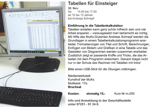 Ki_M_Andreas Schnepf_Tabellen für Einsteiger_2019-2